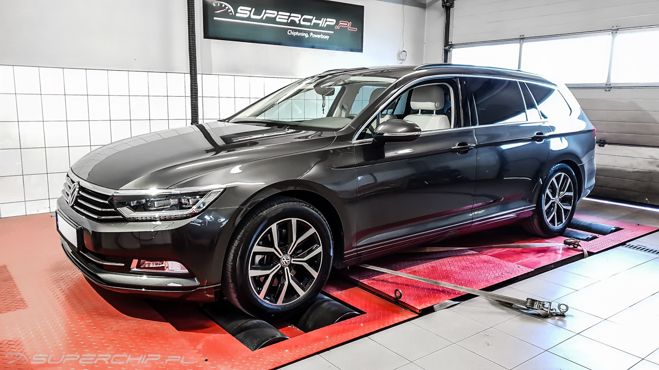 Chip tuning Vw Passat 2.0 TDI 150 KM
