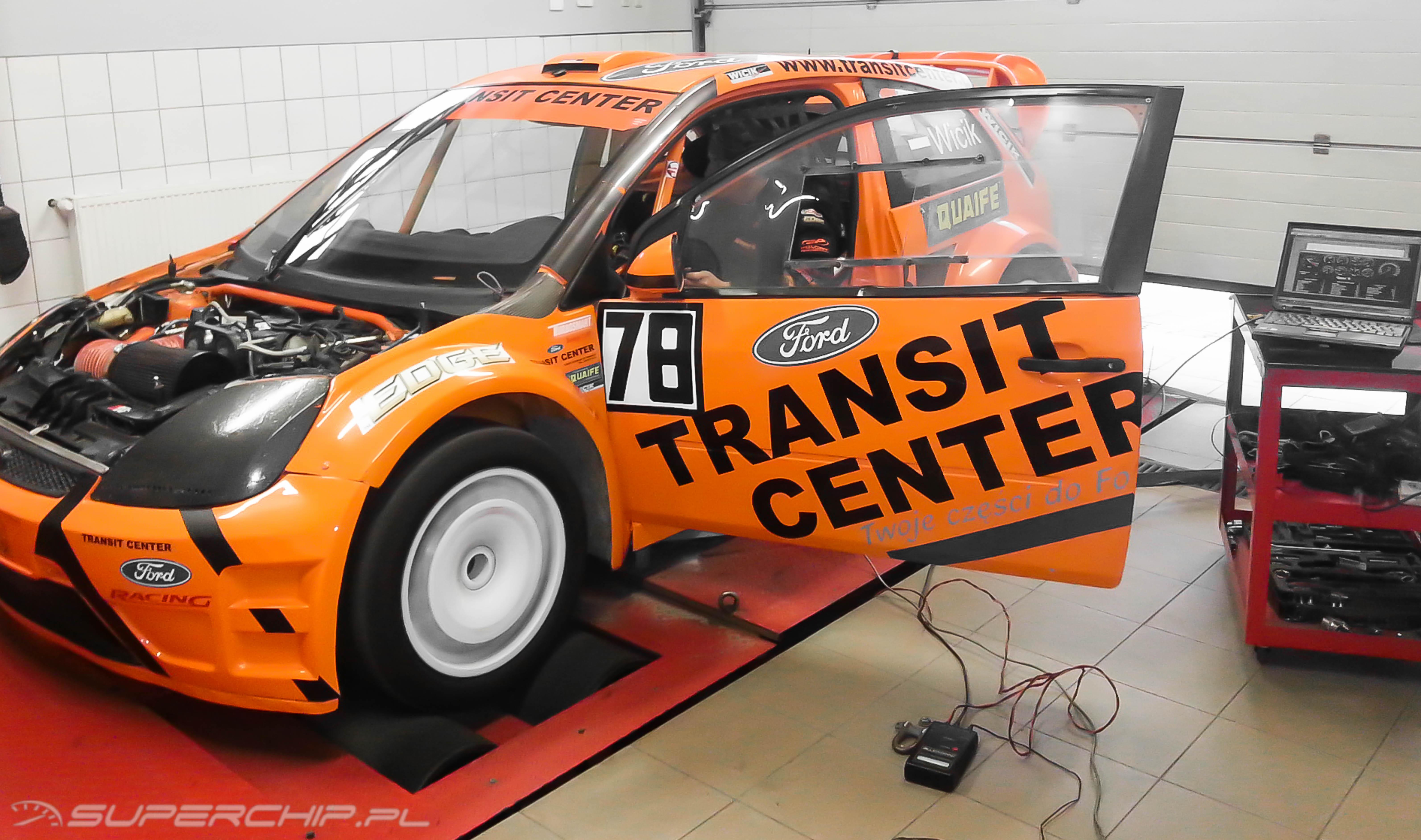 Ford Fiesta 2.0 T 4x4 - strojenie