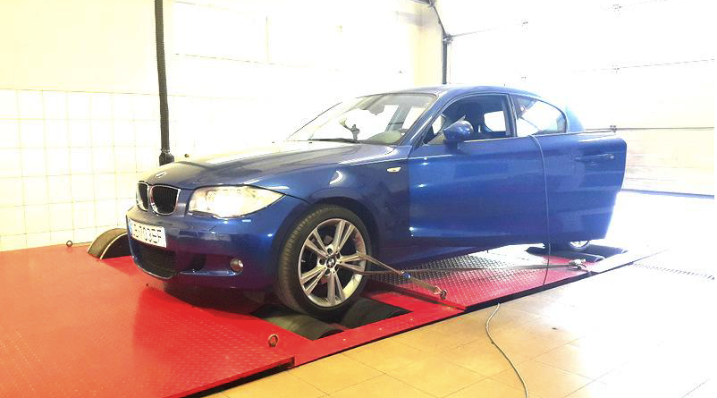 BMW 118D 143 PS - chiptuning