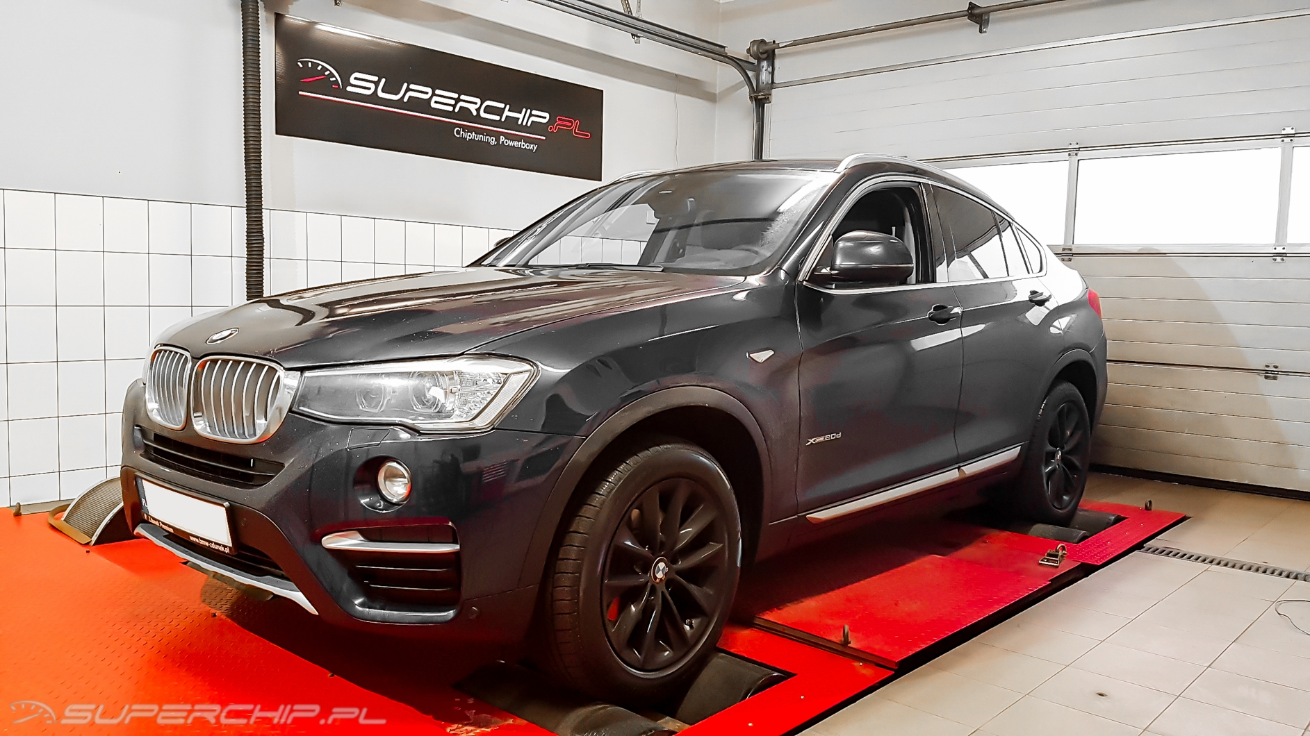Power box BMW X4 20d 190 KM 140 kW