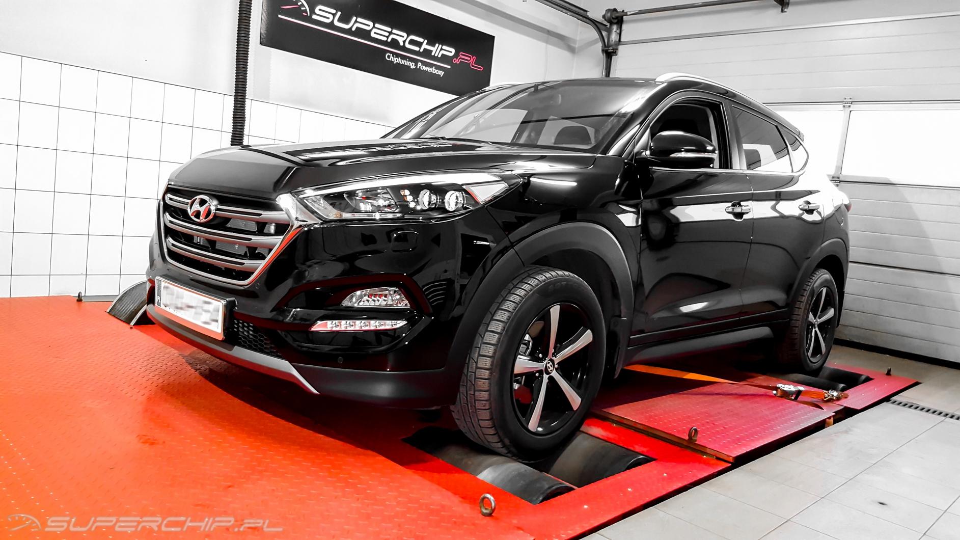 Hyundai Tucson 1.7 CRDi 115 KM PowerBox
